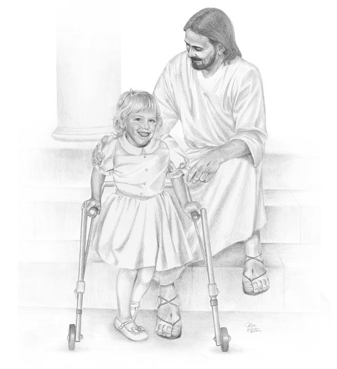 72 best sketches of the savior by j keaton others images on jesus and the little crippled girl altavistaventures Gallery
