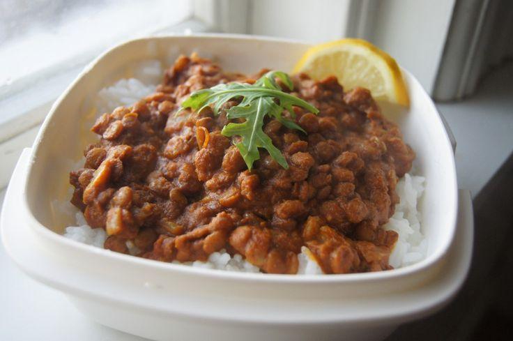 Lentil Tikka Masala Curry #vegan #glutenfree