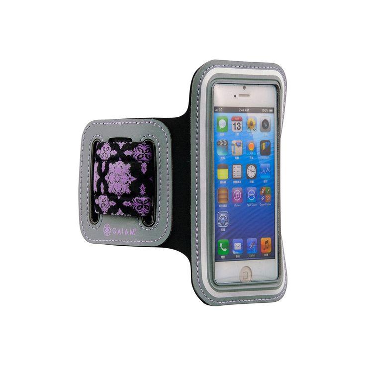 Gaiam iPhone 5 / 5S Sport Armband, Purple
