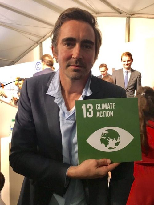 ctor @leepace is at #COP22 in Marrakech to promote climate action