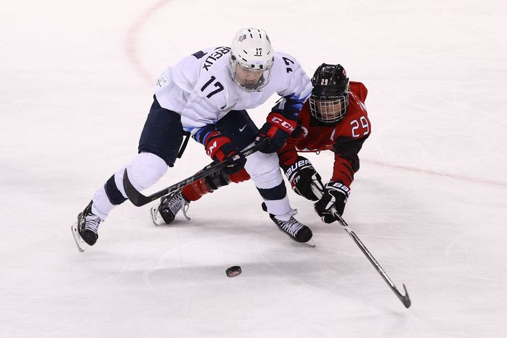 ICYMI: Once Again, the USA Women's Hockey Team Must Play Canada for Olympic Gold