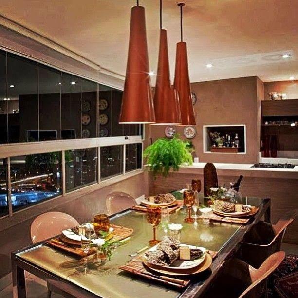Editado  Varandas Gourmet  Perfeitas para receber   Projetos Arquitrecos    Pesquisa de Mercado. 51 best   Varanda e  rea Gourmet   images on Pinterest