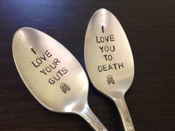 You can acquire the most perfect spoons in existence: | 29 Reasons You Should Absolutely Have A Halloween Wedding
