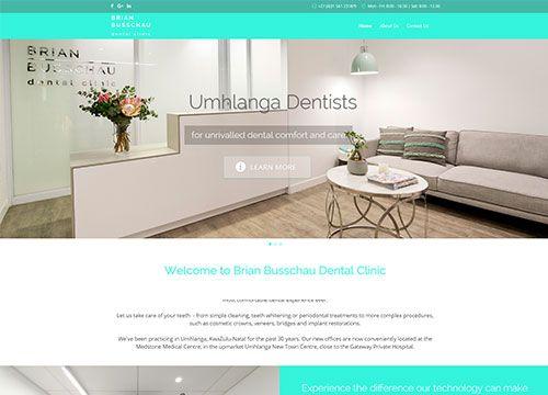 New Dental site in Joomla