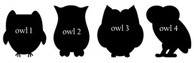 Free SVG owls!  Perfect for anyone who needs an owl pattern.