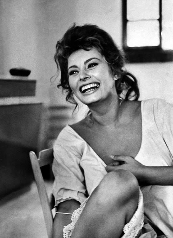 Sophia Loren  She is the embodiment of what a woman should be, the epitome of femaleness