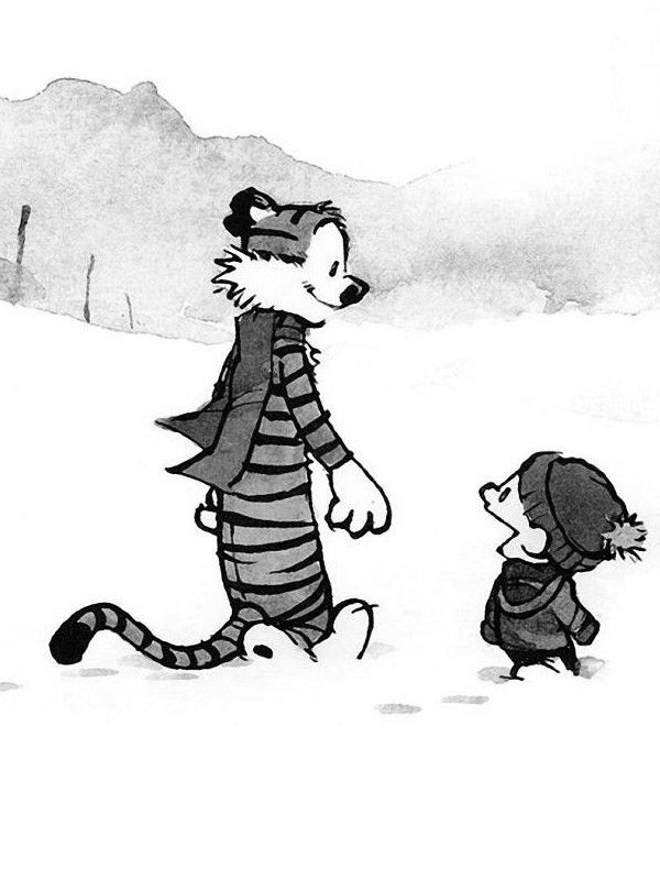"""Calvin and Hobbes QUOTE OF THE DAY: """"From now on, I'm not doing anything I don't want to do! The world owes me happiness, fulfillment and success.... I'm just here to cash in."""" ― Bill Watterson, Calvin and Hobbes: Homicidal Psycho Jungle Cat"""
