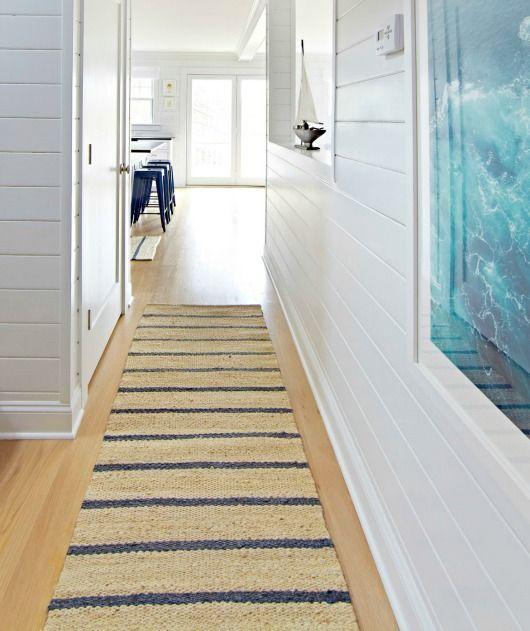 Ocean House Rug: Coastal Nautical Runner Rugs That Make An Entry