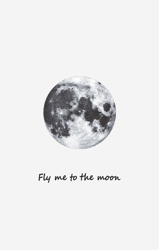 Take Me To The Moon Temporary Tattoo - BKBT Concept