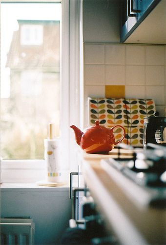 Kitchens Interiors, Orla Kiely, Decor Kitchens, Kitchens Design, Living Room Design, Interiors Design, Home Design, Design Kitchens, Modern Kitchens