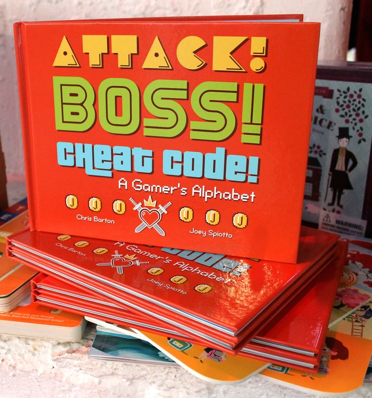 Attack! Boss! Cheat Code! A Gamer's Alphabet #Gaming #Videogames #Kids