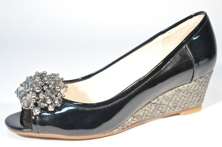 York (Black Patent) - Clutch Those Heels Store