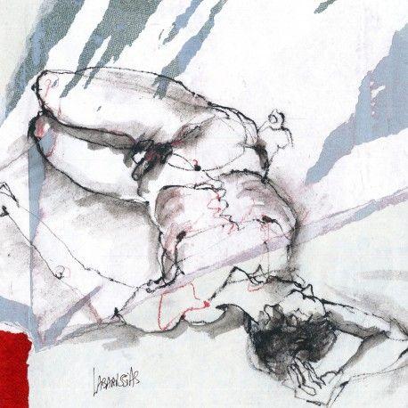 Nude Artwork - Homme endormi 84 - Corinne Labarussias - Mixed