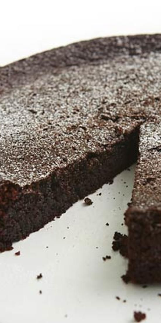 Chocolate Olive Oil Cake. Can be made safe for Passover