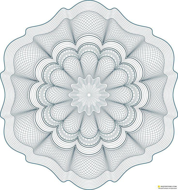 guilloche pattern - Google Search