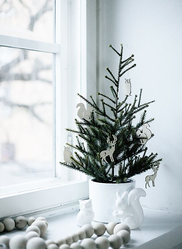 small christmas tree to place in bedroom