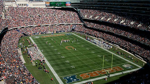 "Soldier Field ~ Home of ""Da Bears"""