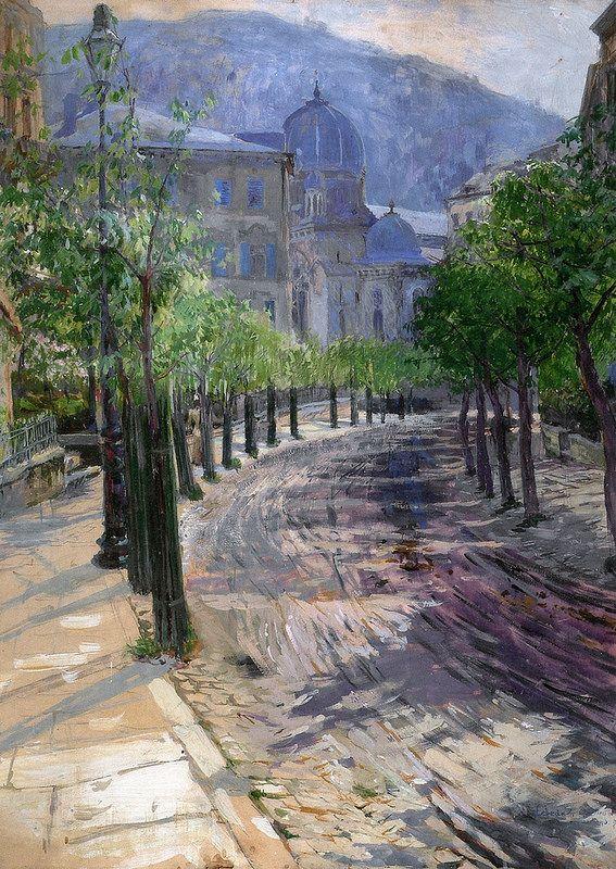 OTAKAR LEBEDA (1877 – 1901)  Karlovy Vary
