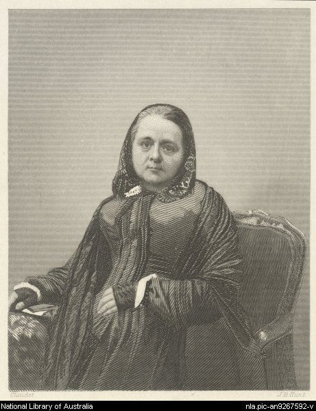 Caroline Chisholm (1808-1877): progressive 19th-century English humanitarian known mostly for her involvement with female immigrant welfare in Australia.