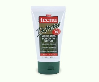 Fast relief! Take care of your poison ivy or oak rash in one step. Washing with Tecnu Extreme not only removes the rash-causing plant oil, urushiol, but it also relieves itching and soothes burning from poison ivy, oak and sumac rash.... this stuff has saved me so many times.
