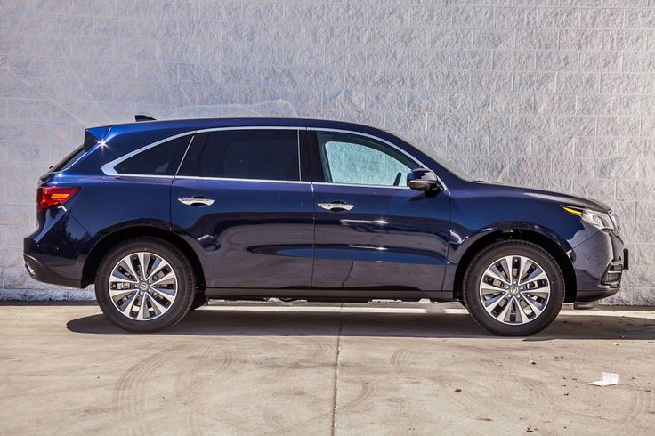 2014 acura mdx in fathom blue pearl with tech package. Black Bedroom Furniture Sets. Home Design Ideas