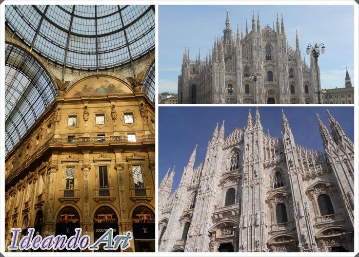 Catedral de Milán y Galería Vittorio Emanuele by IdeandoArt