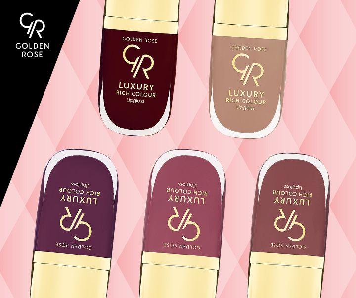Poznałaś najnowsze kolory Luxury Rich Color Lipgloss?