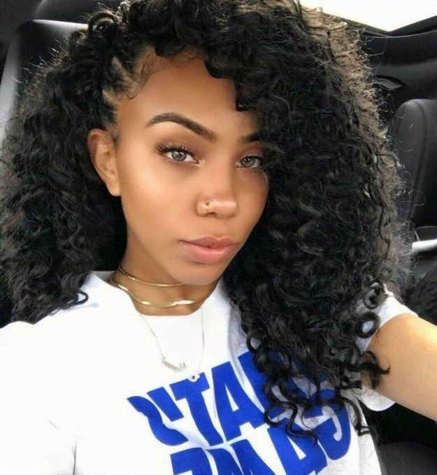 Cute Curly Crochet Hairstyles Share This Image Save These