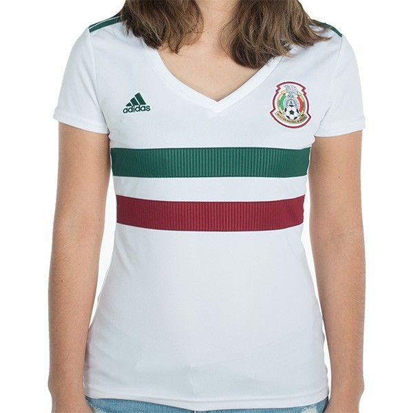 Women s Adidas Mexico 2018 2019 World Cup Away Jersey  44a24daa6