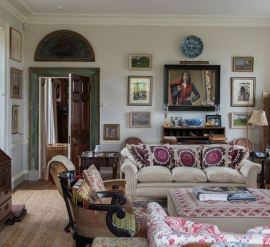 Exceptional Manor Home Of An English Designer · English Cottage InteriorsHouse ...