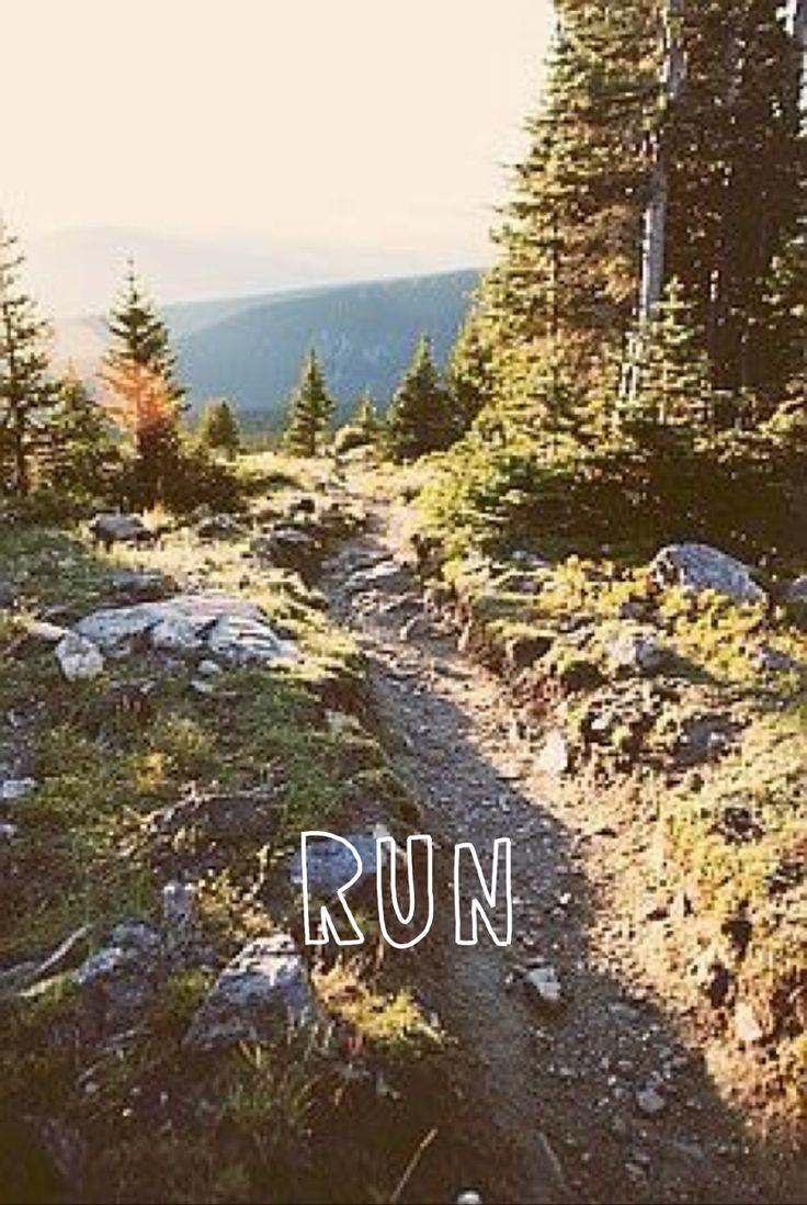 running in nature #livingthegreen