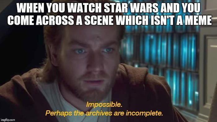 Impossible Starwarsfunny Star Wars Quotes Star Wars Jokes Star Wars Humor