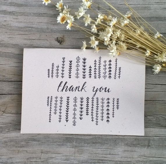 Hey, I found this really awesome Etsy listing at https://www.etsy.com/listing/229805572/thank-you-card-set-wedding-thank-you