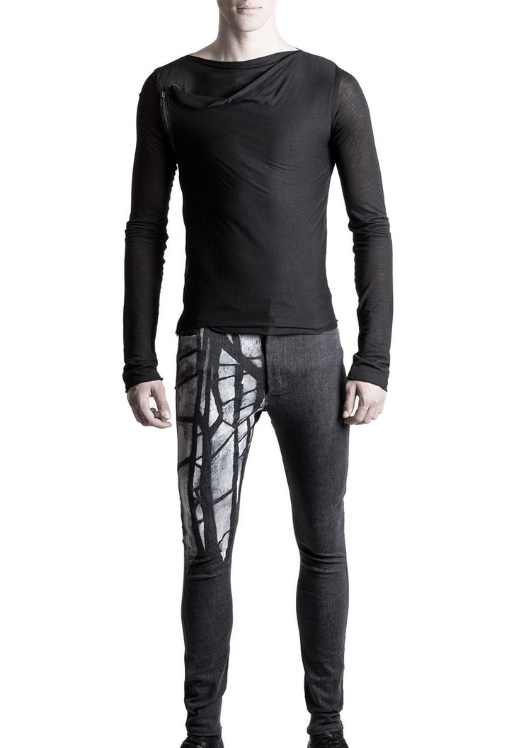 Men's extra slim jeans #PANTHEIST #CORVUScolletion #menswear pantheist.co