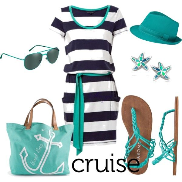 """""""Cruise Ship Vacation"""" Polyvore"""