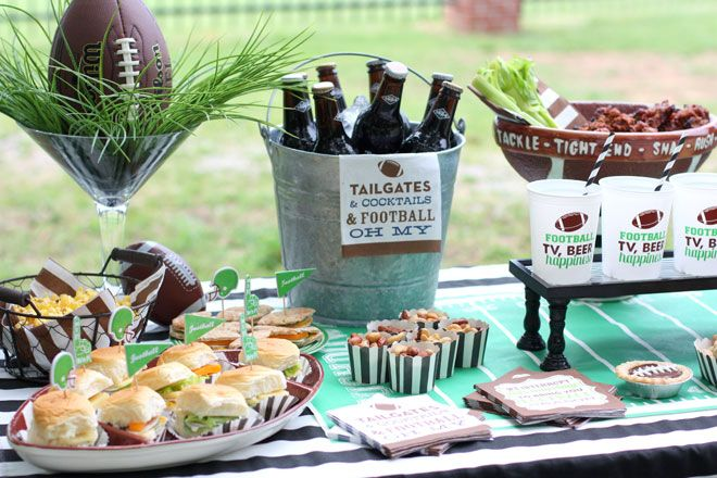 Football Tailgate Inspiration with Swoozie's!