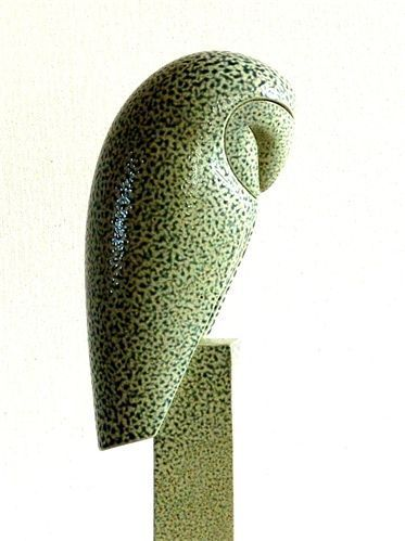 Barn Owl sculpture by Anthony Theakston.