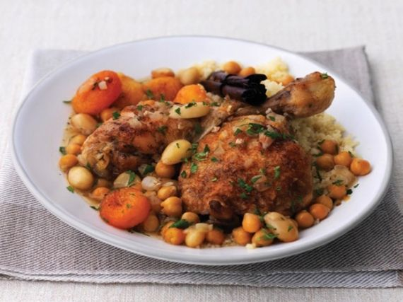 Baked Chicken with Apricots and Almonds | Yum-Yums | Pinterest
