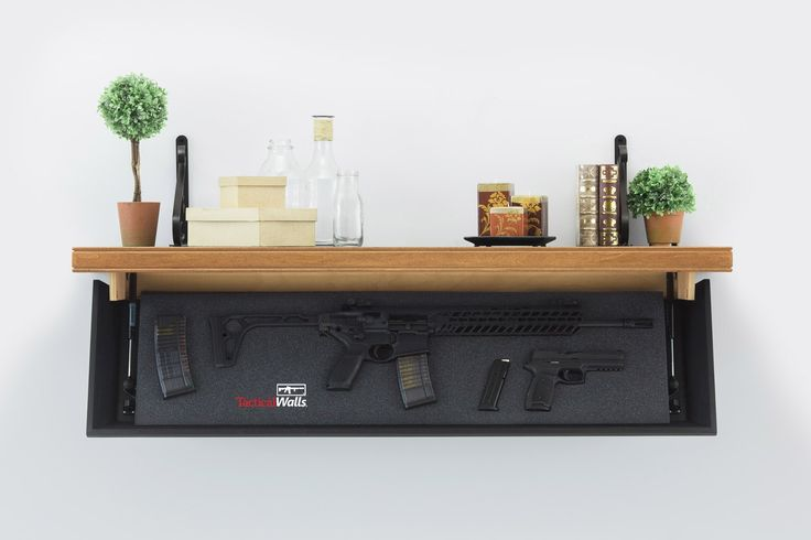 Ideas, 1242 rifle length shelf tactical walls home defense regarding sizing 1400 x 933 .