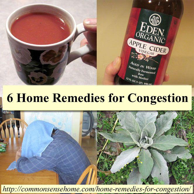 Pruebe estos fáciles remedios caseros para la congestión, para aliviar la presión de la nariz y los senos paranasales tapada para que pueda respirar.  Opciones descongestionante natural.