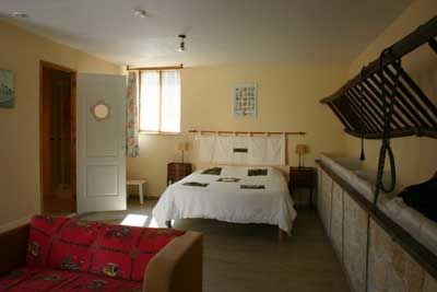 Une des Chambres d'hôtes à vendre à Jonquery dans la Marne
