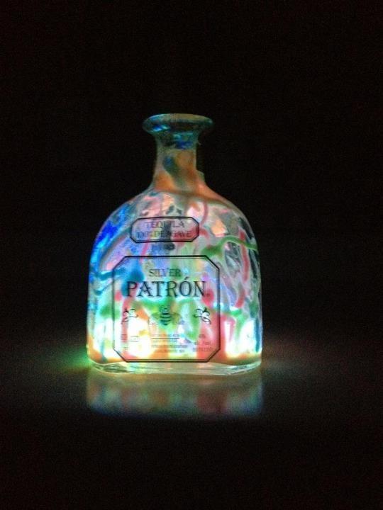 91 best bottles remade images on pinterest glass bottles for Liquor bottle art