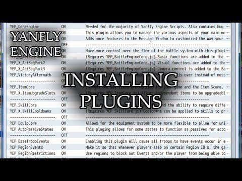 RPG Maker MV: Installing Plugins