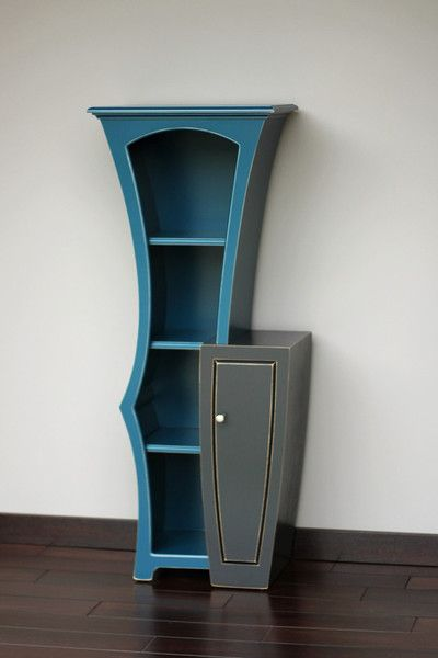 "Stacked Cabinet No.5 by Dust Furniture; designed by Vincent Leman; 60""h x 24""w x 16""d"