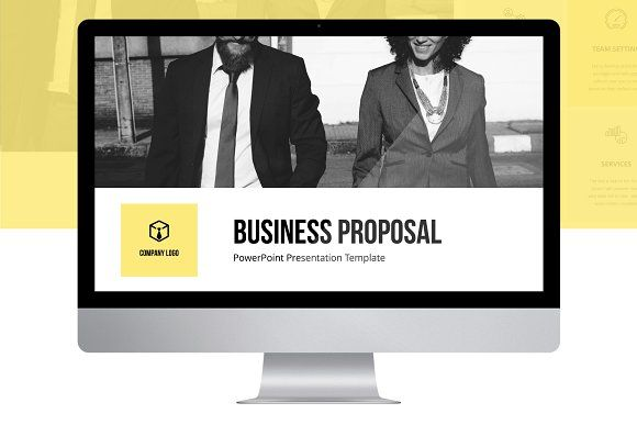 Business Proposal PPT Template by Wipavee on @creativemarket