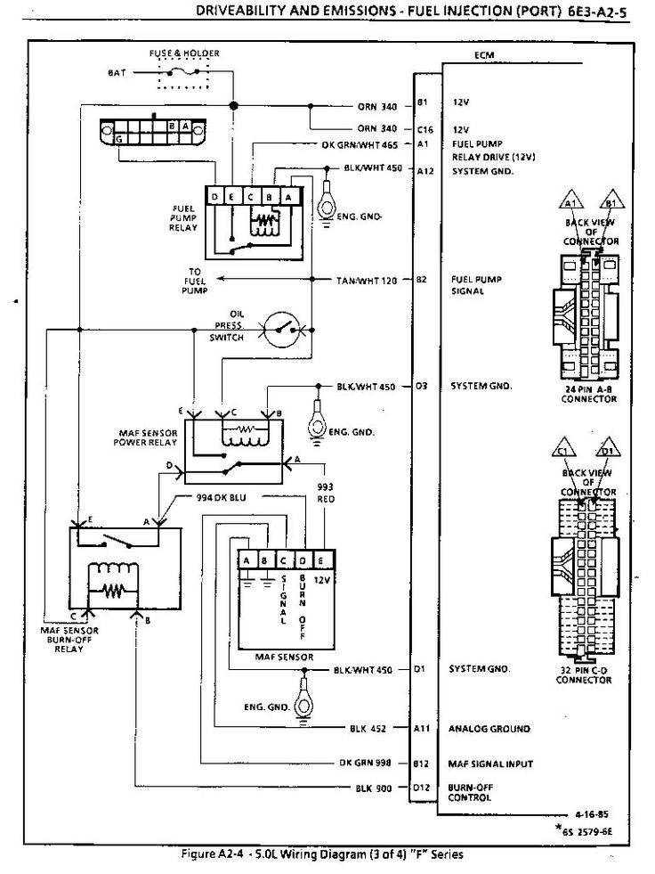 86 165v8tpi 4 For Tpi Wiring Harness Diagram in 2020