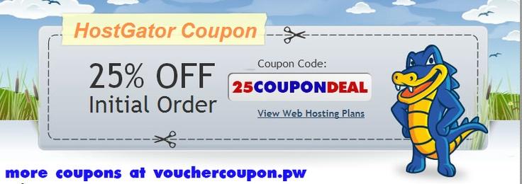 10 best hostgator coupon code images on pinterest coupon codes hostgator coupon code 25 percent discount fandeluxe Gallery