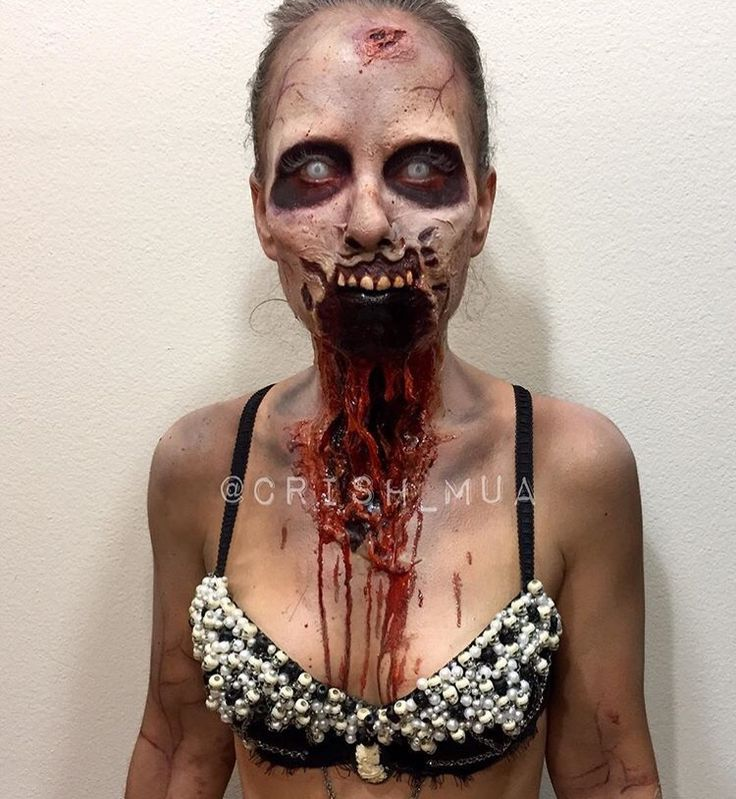 Zombie makeup                                                                                                                                                                                 More