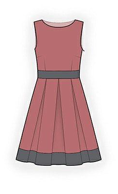 4278 PDF Dress Sewing Pattern Women Clothes by TipTopFit on Etsy, $2.49