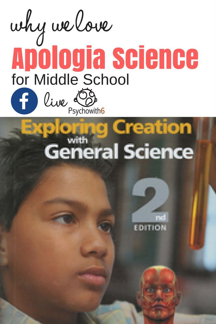 Who we love Apologia Science for middle school. Watch this review & giveaway and use the code SANITY for $18 off Advantage sets for a limited time.
